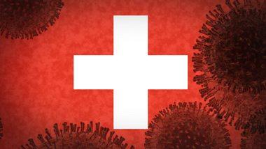 Coronaviren auf Flagge der Schweiz - Foto: iStock / Harald Pizzinini