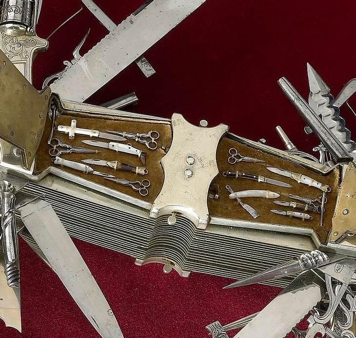 Dieses Schweizer Taschenmesser Hat 100 Klingen Und Einen