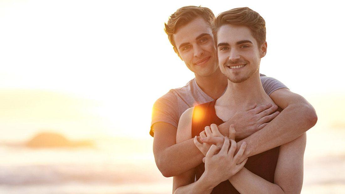 Homosexuelles Pärchen