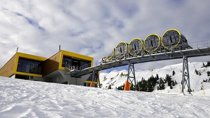 Schweizer bauen steilste Standseilbahn der Welt
