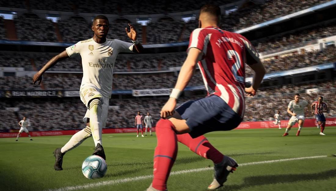 Screenshot von FIFA 20