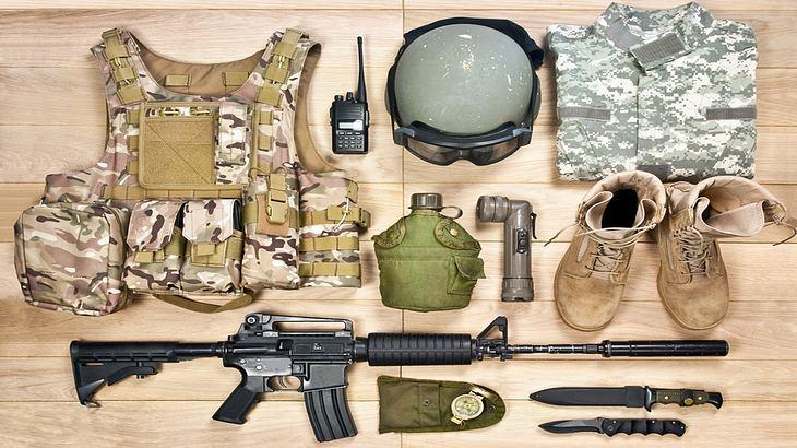 Navy-Seals-Grundausrüstung
