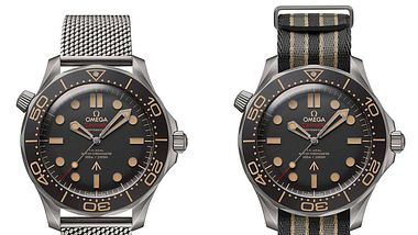 Omega präsentiert James Bonds zukünftige Uhr