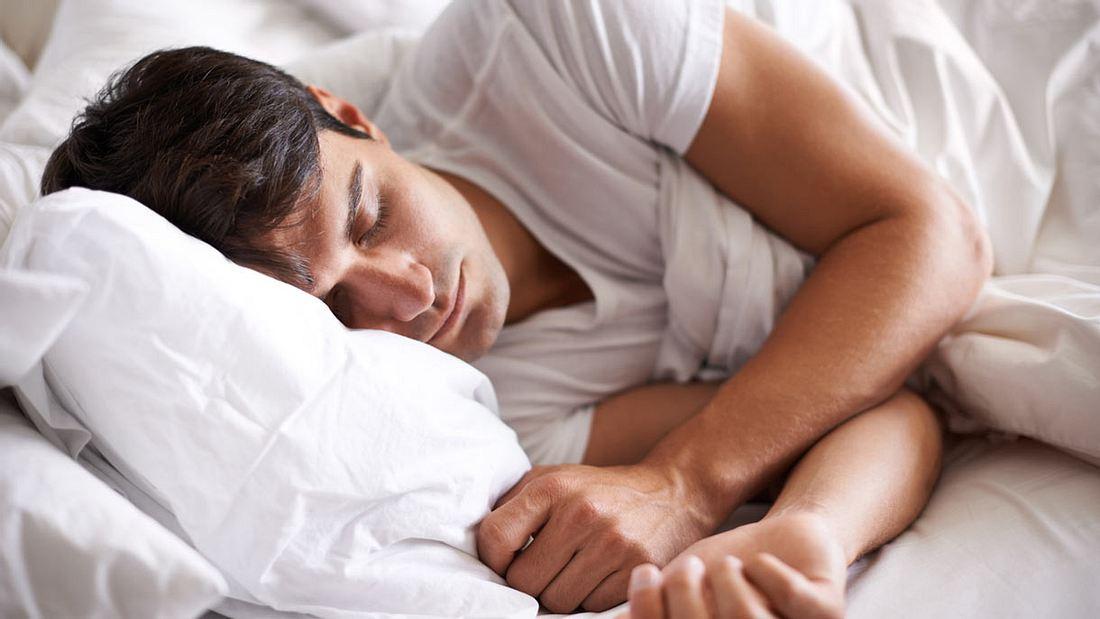 Man sollte nicht auf der rechten Seite schlafen