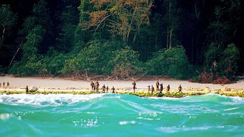 Diese Insel wurde nie erforscht, da ihre Bewohner alle Besucher töten