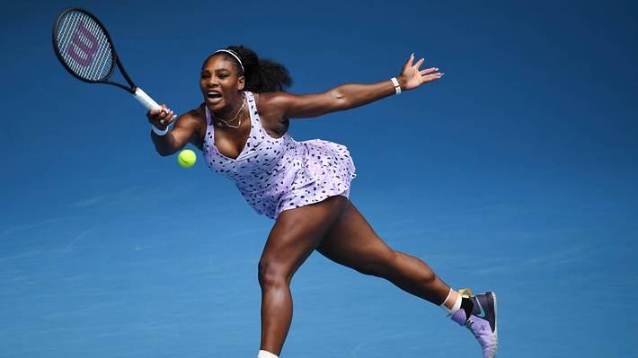 Serena Williams nackt – Der Schock hielt die ganze Woche an