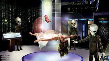 Diese Frau behauptet, sie habe den besten Sex ihres Lebens mit Aliens - Foto: Hybrid Children (Human/ET ) / Facebook