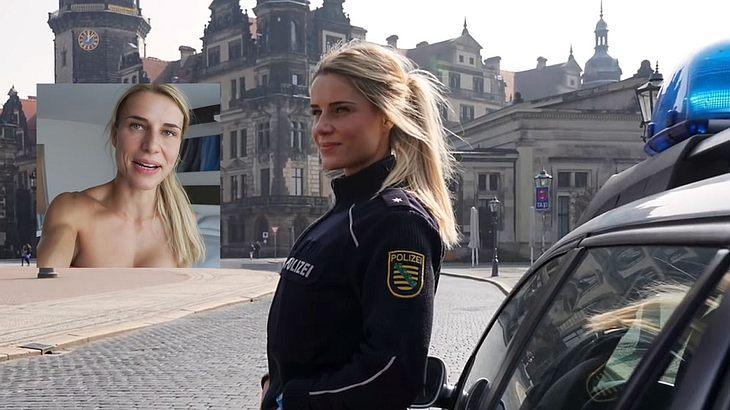 Sexy Polizistin Adrienne Koleszár muss sich entscheiden.