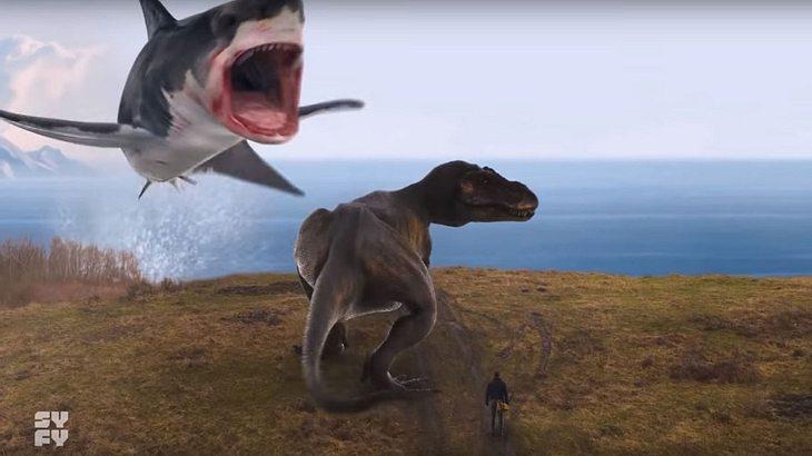 """Monster-Hai gegen T-Rex """"Sharknado 6"""""""