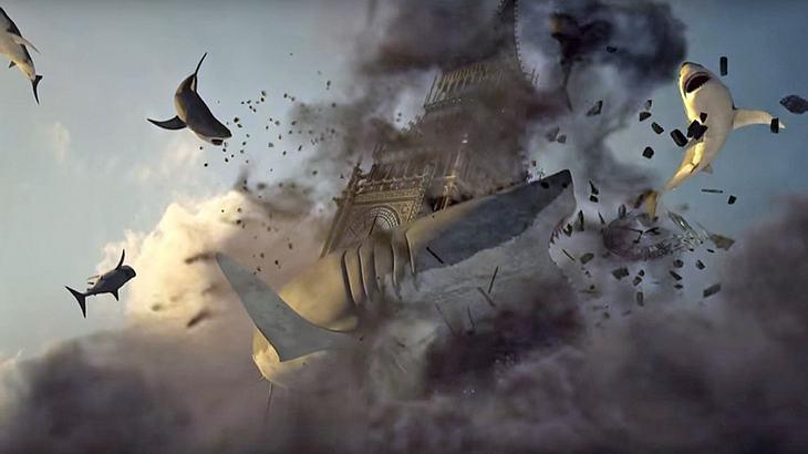 Sharknado 5: Global Swarming - Der erste Teaser-Trailer zum Trash-Spektakel 2017 ist da