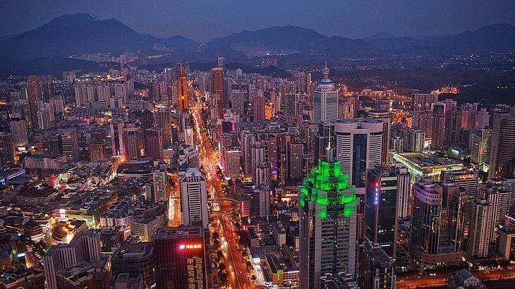Shenzhen wird von Lonely Planet berücksichtigt.