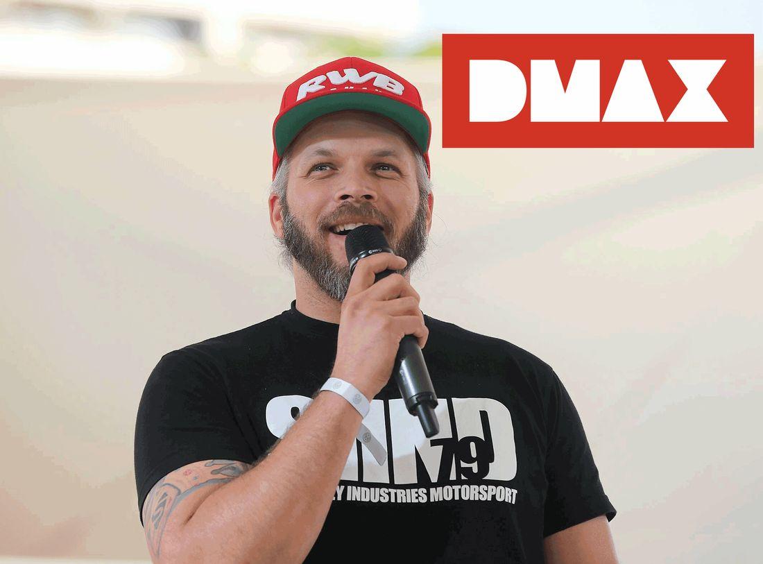 Sidney Hoffmann auf DMAX