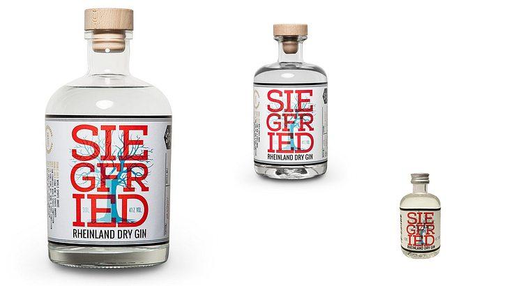 Siegfried Gin in diversen Größen