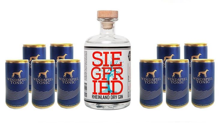 Siegfried Gin mit Windspiel Tonic