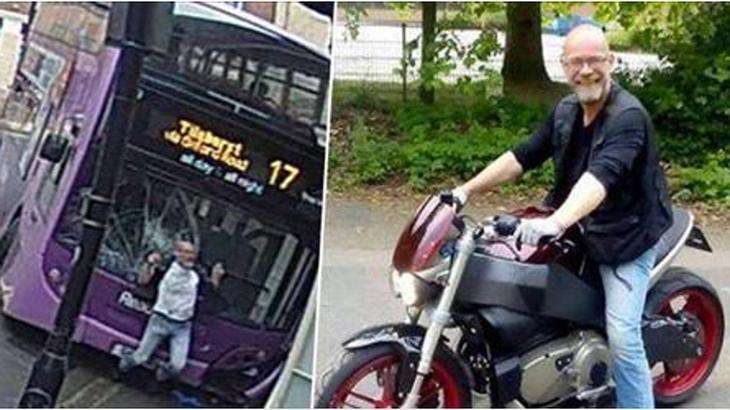 Simon Smith: Das ist der Mann, der in Reading von einem Bus umgefahren wurde, und danach in die Kneipe ging