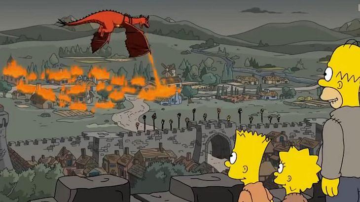 """""""Die Simpsons"""" sehen das Ende von """"Game of Thrones"""" voraus"""