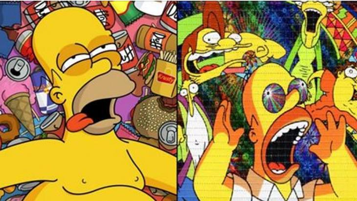 Ein Simpsons-Fan hat zwei Tage lang LSD genommen