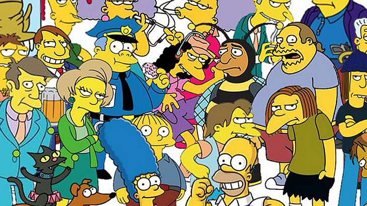 die simpsons quiz