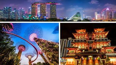 Diese 5 Sehenswürdigkeiten in Singapur sind ein Muss