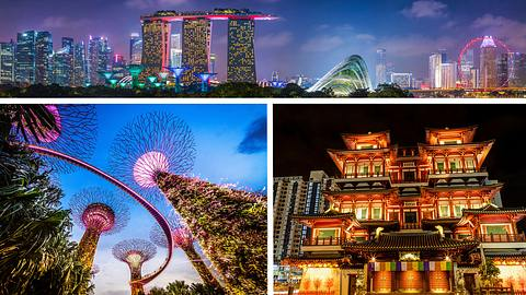 Singapur - Foto: iStock / fotoVoyager / Nikada / ronniechua (Collage Männersache) (Titel)