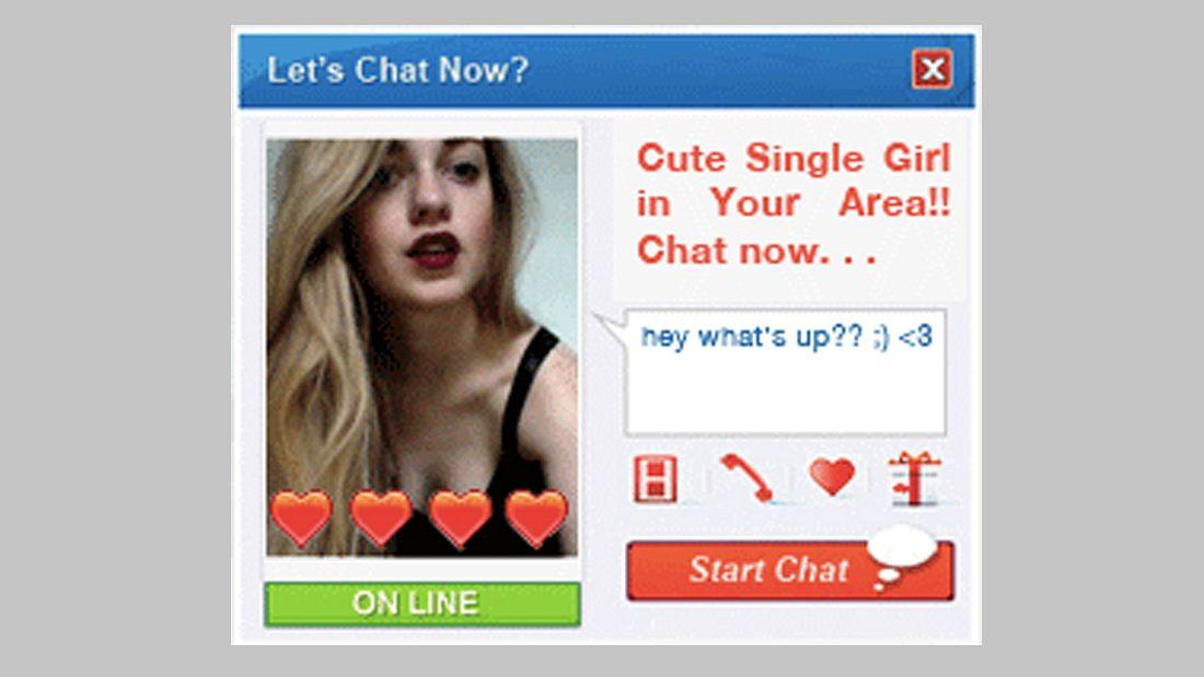 Das pasisert, wenn du man auf Heiße Singles in deiner Nähe Anzeigen klickt