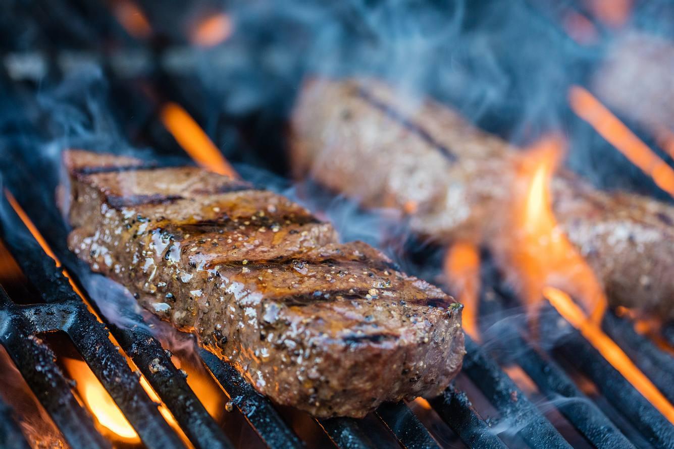 Gegrilltes Sirloin-Steak