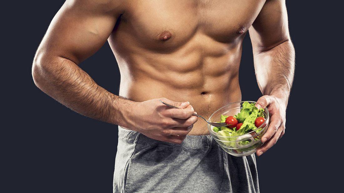 Die ideale Sixpack-Ernährung (Symbolfoto).