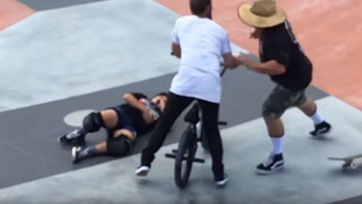 Psycho-Dad befördert BMXer ins Kurzzeit-Nirvana