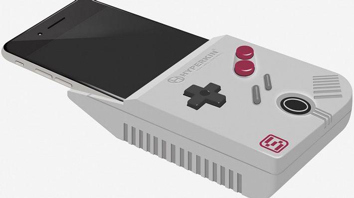 SmartBoy: So heißt Hyperkins Gadget, das Smartphones mit GameBoy-Spielen kompatibel machen soll - Foto: Hyperkin