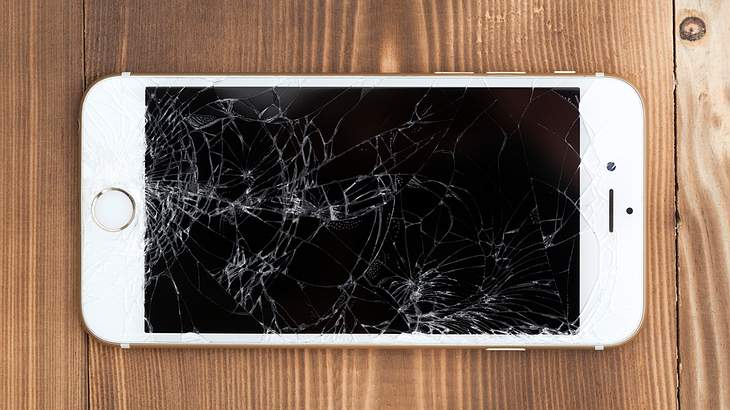 Display-Crash ade: Jetzt kommt das selbst heilende Glas
