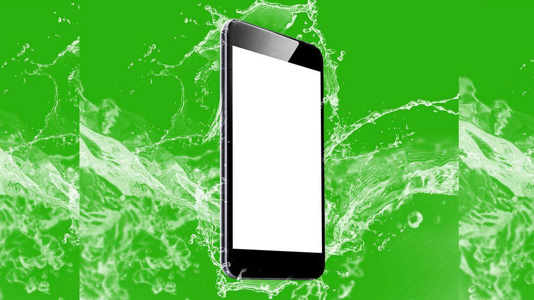 Smartphones, die nicht wasserdicht sind, finden in Japan so gut wie keinen Abnehmer