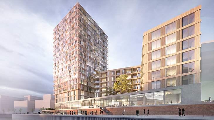 So soll Deutschlands erstes Holzhochhaus aussehen