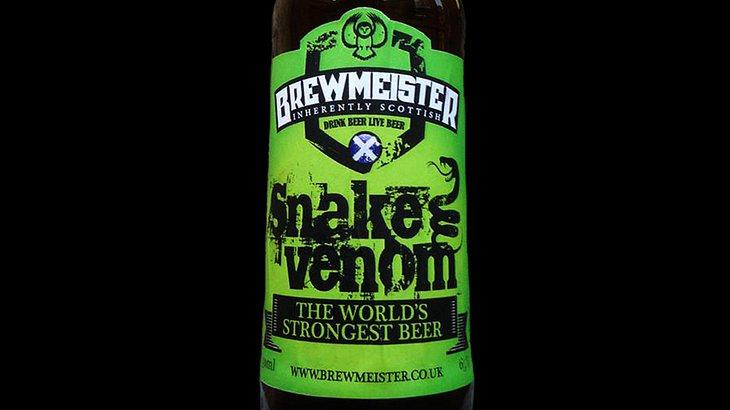Snake Venom Bier: Das ist das stärkste Bier der Welt mit einem Alkoholgehalt von 67,5 Prozent