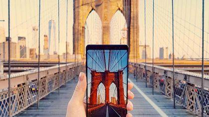 Die Brooklyn Bridge im Fokus des neuen Samsung Galaxy Note 8 - Foto: Instagram / rrrudya