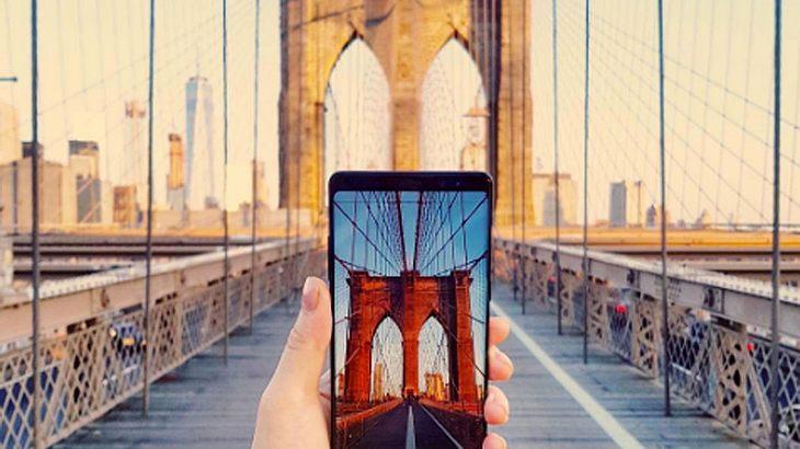Die Brooklyn Bridge im Fokus des neuen Samsung Galaxy Note 8