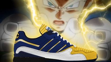 dragon ball z adidas sneaker - Foto: Facebook / Kanal Game Star