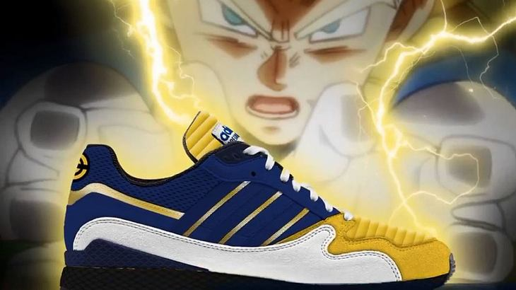 dragon ball z adidas sneaker