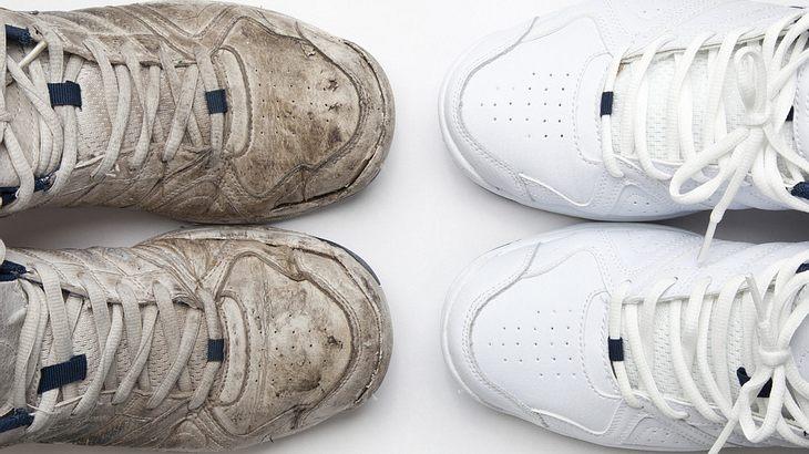Sneaker sauber machen: So werden deine Turnschuhe wieder weiß
