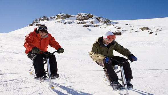 Neuer Trend Snowbike - Foto: iStock