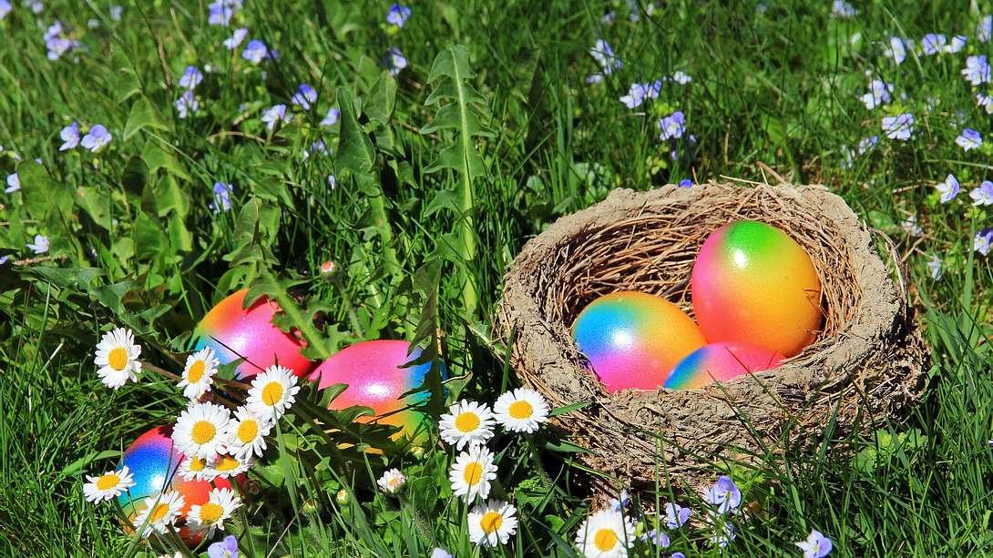 Wettervorhersage für Ostern