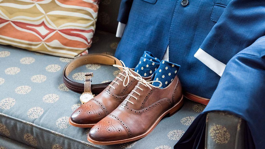 Die passenden Socken zum Anzug