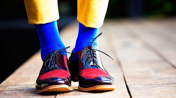 Dresscode Die Passenden Socken Zu Schuhen Und Anzug Männersache