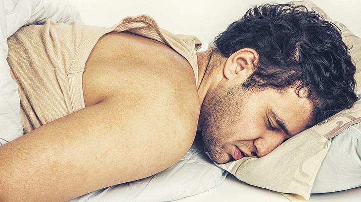 Man sollte lieber nicht nackt schlafen