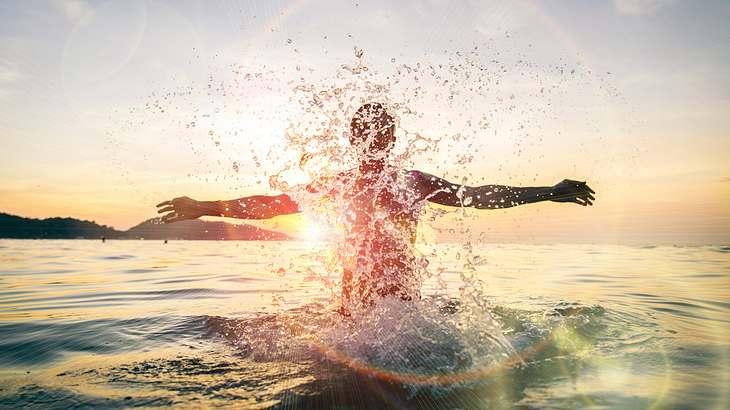 Bis zu 30 Grad: Heftiges Hoch sorgt für Badewetter am Wochenende