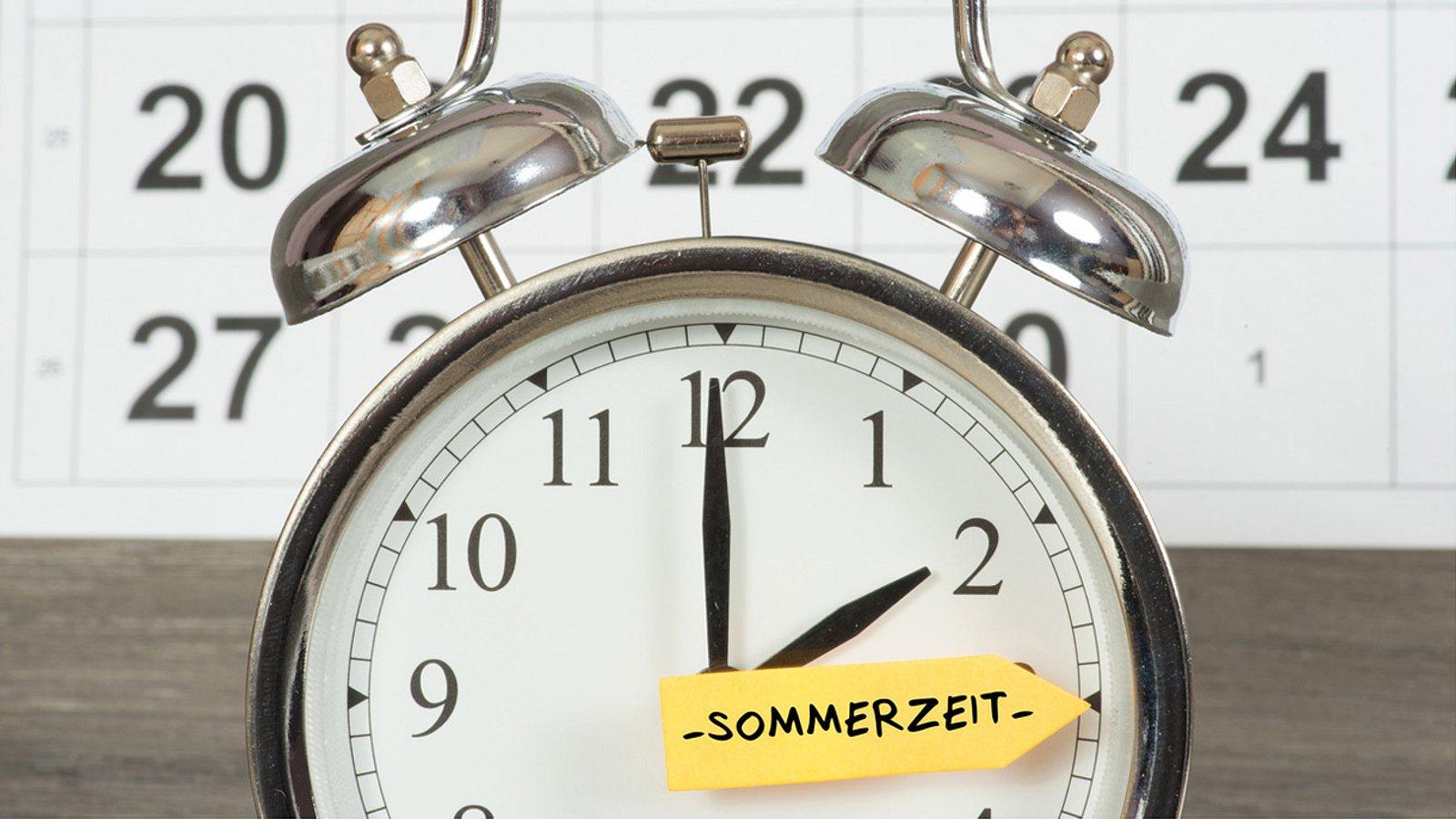 über Sommerzeit Abstimmen