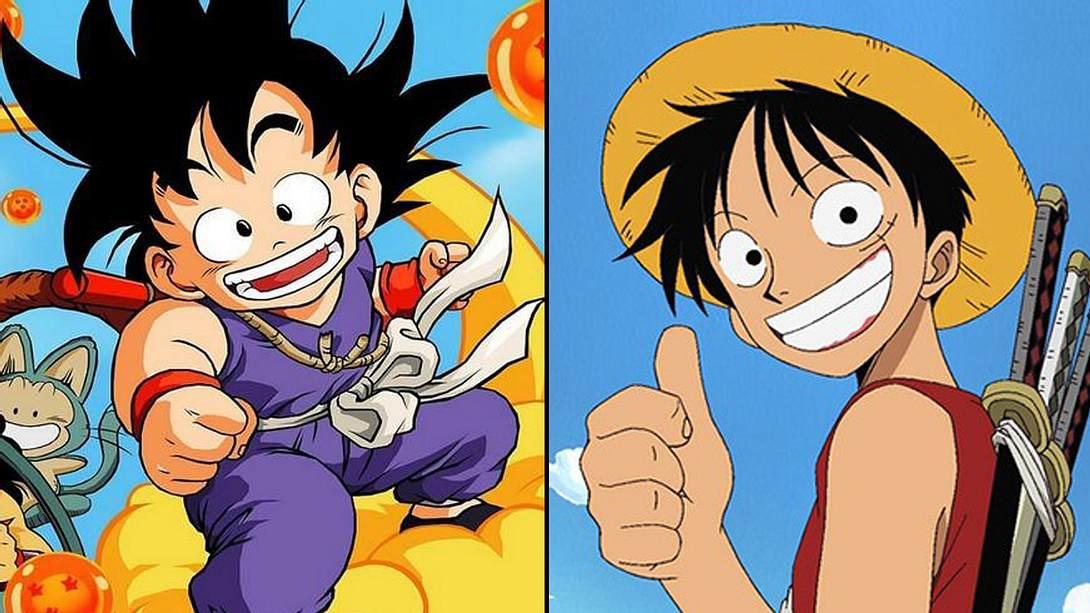 Son-Goku und Ruffy - Foto: Toei Animation
