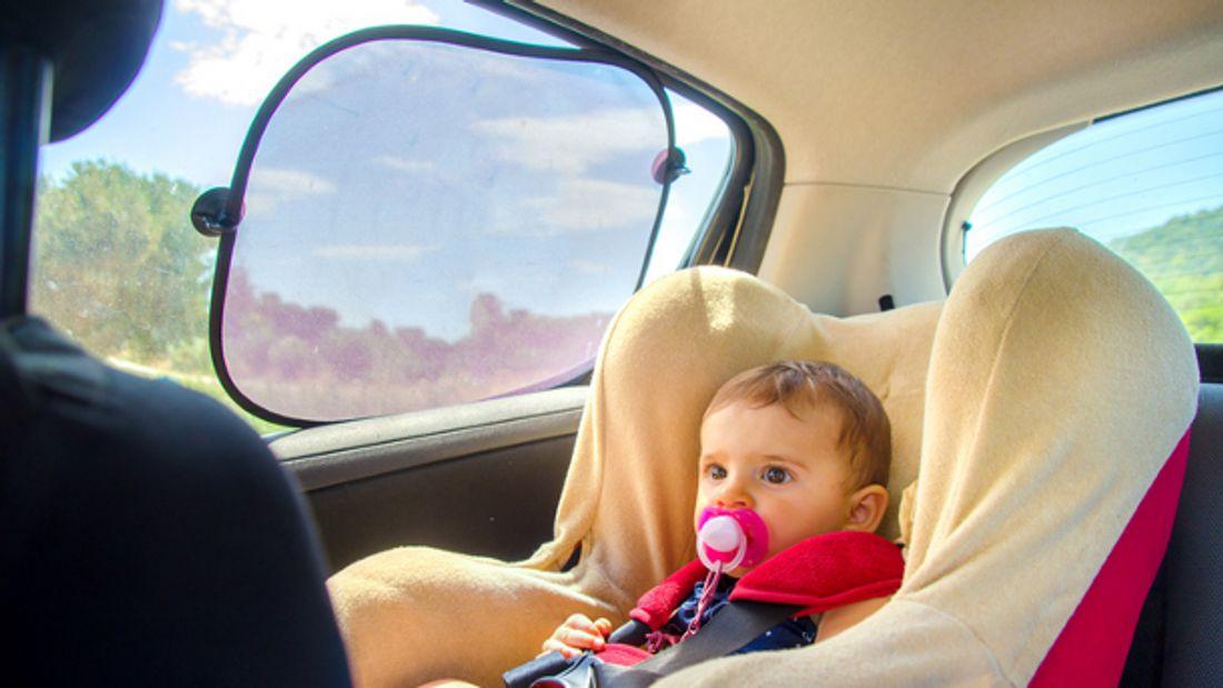 Sonnenschutz Auto Baby