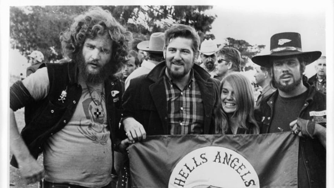 Sonny Barger and the Hells Angels