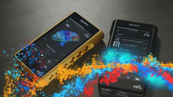 Der W-WM1Z ist Sonys neues Flagschiff unter den MP3-Playern