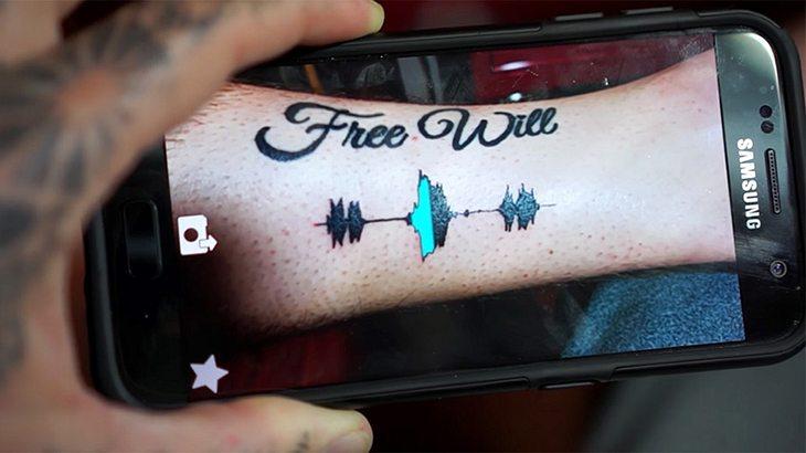 Ab sofort kannst du dir akustische Tattoos stechen lassen